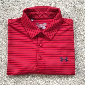 Men's Large Under Armour polo